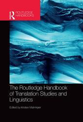 The Routledge Handbook of Translation Studies and Linguistics PDF