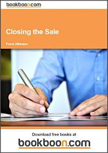 Closing the Sale Book