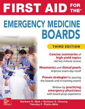 First Aid for the Emergency Medicine Boards Third Edition: Edition 3