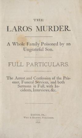 The Laros Murder PDF