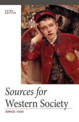 Sources For Western Society Since 1300 Book PDF
