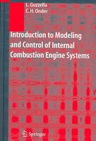 Introduction to Modeling and Control of Internal Combustion Engine Systems PDF