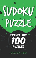 Sudoku Puzzle Travel Size 100 Puzzles EASY TO HARD