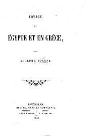 Voyage en Égypte et en Grèce