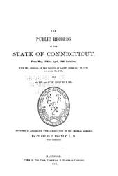 The Public Records of the State of Connecticut: Volume 2