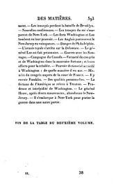 Histoire de la Guerre de L'indépendance Des Et́ats-Unis D'Ameŕique: Volume 1