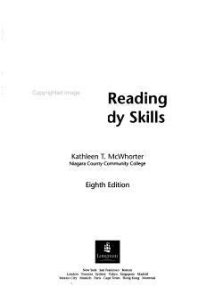 College Reading and Study Skills PDF