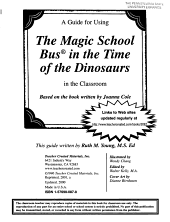 A Guide for Using The Magic School Bus in the Time of the Dinosaurs in the Classroom PDF