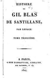 Histoire de Gil Blas de Santillane: Volumes3à4
