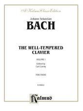 The Well-Tempered Clavier, Volume I: Piano Collection