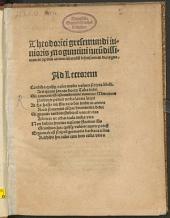 Theodorici gresemundi iunioris Moguntini Iucu[n]dissimus in septem artium liberaliu[m] defensionem dialogus