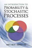 An Introduction to Probability and Stochastic Processes PDF