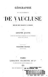 Géographie du département de Vaucluse