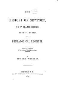 The History of Newport  New Hampshire PDF