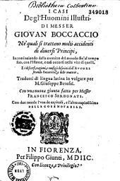 I Casi del'huomini illustri, tradotti di lingua latina in volgare per M. Giuseppe Betussi, con una nuova giunta fatta per messer Francesco Serdonati