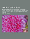 Breach of Promise  Its History and Social Considerations PDF