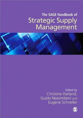 The SAGE Handbook of Strategic Supply Management PDF