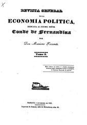 Revista general de la economia politica ...