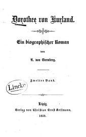 Dorothee von Kurland: ein biographisher Roman, Band 2