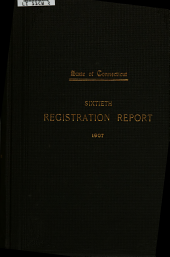 Registration Report of Births, Marriages, Divorces and Deaths: Volume 60