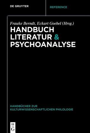 Handbuch Literatur   Psychoanalyse PDF