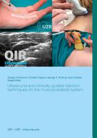 Ultrasound and clinically guided Injection techniques on the musculoskeletal system PDF