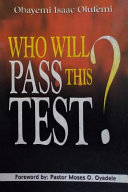 Who Will Pass This Test   Will You Pass the Test