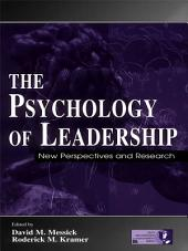 The Psychology of Leadership: New Perspectives and Research