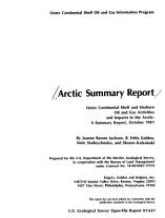 Arctic Summary Report PDF