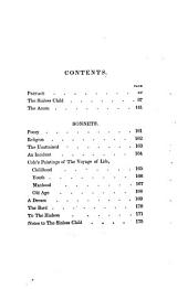 The Sinless Child, and Other Poems