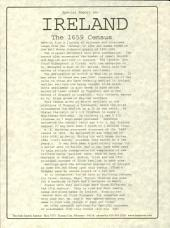 The 1659 Surname Census of Ireland