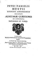 Alnetanae quaestiones de concordia rationis et fidei