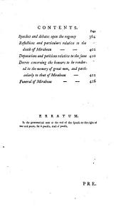 Speeches Pronounced in the National Assembly of France: Volume 2