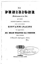 La punizione: melodramma in tre atti : da rappresentarsi al Gran Teatro La Fenice nella stagione di carnovale e quadragesima 1853 - 54