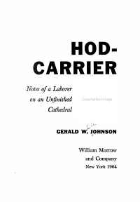 Hod carrier PDF