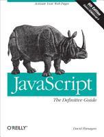 JavaScript  The Definitive Guide PDF