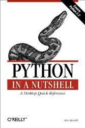 Python In A Nutshell Book PDF