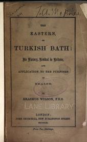 The Eastern, or Turkish bath