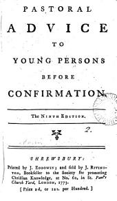 Pastoral Advice to Young Persons Before Confirmation: Volume 2