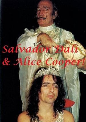 Salvador Dalí & Alice Cooper!