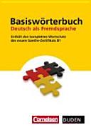 Basisw  rterbuch Deutsch als Fremdsprache PDF