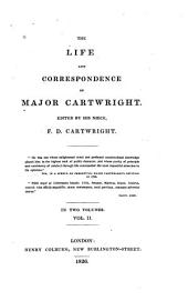 The Life and Correspondence of Major Cartwright: Volume 2