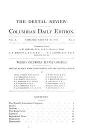 Dental Review: Volumes 1-10