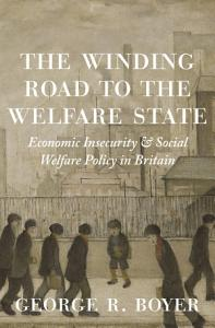 The Winding Road to the Welfare State Book