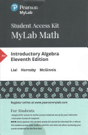 Mymathlab With Pearson Etext Standalone Access Card For Introductory Algebra Book PDF