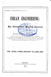Indian Engineering: Volume 39