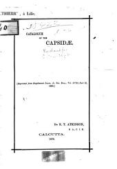 Catalogue of the Capsidae ...