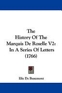 The History of the Marquis de Roselle V2