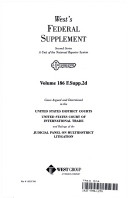 Download West s Federal Supplement Second Series A Unit of the National Reporter System Volume 186 F  Supp  2d Book