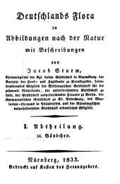 Deutschlands Flora: in Abbildungen nach der Natur mit Beschreibungen. ¬Abt. ¬I., Phanerogamen ; H. 58, Band 1,Ausgabe 58